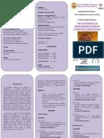 PROGRAMA DEL CURSO APLICACIONES DE LAS BIOTRANSFORMACIONES EN LA INDUSTRIA