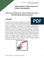 Analisis de Flujo Interno en Valvula de Bola