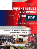 Current Issues in Nursing Education