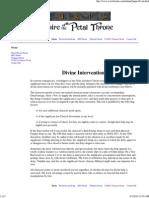 GURPS Tékumel - Divine Intervention