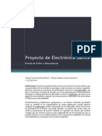 Proyecto de Electrónica Básica