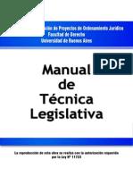 07 Manual de Tecnica Legislativa