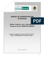 6 Manual de Administración de Riesgos