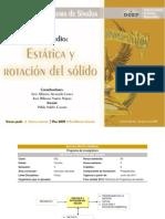PG 542 Estatica y Rotacion Del Solido