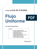Practica 1.- Flujo Uniforme