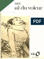 Jean Genet - Journal Du Voleur - 1949
