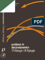 Problems in Electrodynamics - Batygin, Toptygin
