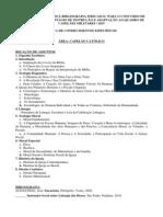 Relao de Assuntos e Bibliografia Conhec Especificos CA Eia Qcm 2014 (1)