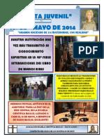 Gaceta Juvenil Ecb Nº 64 - Mayo 2014