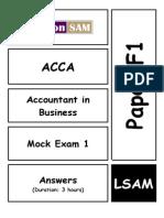 50854453 Acca f1 Mock1 Answers