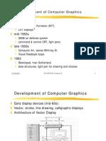 Devolopment of Computer Graphics