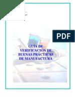 Ops. Guia de Verificación de Buenas Practicas de Manufactura