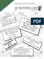 2001-01 Taconic Running Life January 2001