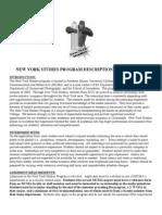 MCMA New York Studies Program 2010