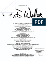 Fats Waller Pianosolos