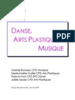 Danse Musique Arts Plast
