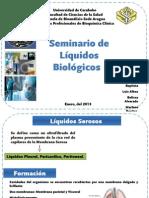 Presentaci+¦n1 Liquidos Biologicos, Pasantias de Bioquimica Clinica