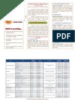 Brochure Skill Training