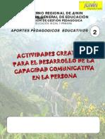 Actividades Creativas Para El Desarrollo de La Capacidad Comunicativa de La Persona. (1)