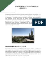 Contaminacion Del Aire en La Ciudad de Arequipa