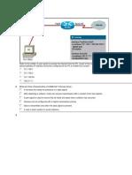 CCNA_Exploration Network Fundamentals_ENetwork Practice Final Exam