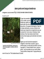 Suicidas No Japão Batem Ponto Em Bosque Tenebroso - Esquisitices - R7