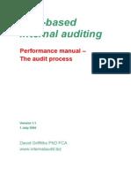 Risk Based Delivery Performance Standards Audit