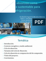 Ciclo de absorción como alternativa sustentable para la refrigeración.pptx