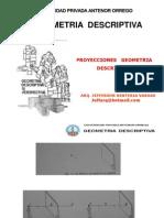 Proyecciónes Geometría Descriptiva