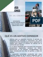 Aditivos Expansores Diapositivas Quicaño