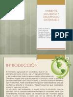 Ambiente, Sociedad y Desarrollo Sustentable Defi