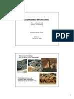 Sustainable Engineering 2