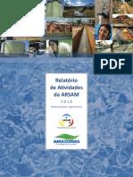 Relatório Atividades 2010 - Agência Reguladora Do Estado Do Amazonas