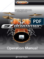 EZdrummer Operation Manual