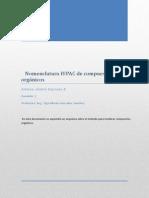 Nomenclatura IUPAC Andrés Espinoza Par 2