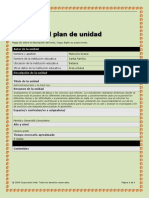 plantilla del plan de unidad autoguardado