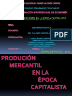 PRODUCCION MERCANTIL