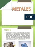 Diapositivas Metales