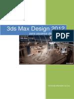 3D Max Design 2012 - Cámaras y Render