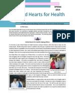 UHH Spring 2014 Newsletter