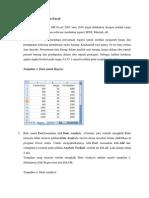 Analisis Regresi Dalam Excel