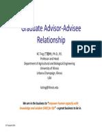Graduate Advisor Advisee Relationship 040114