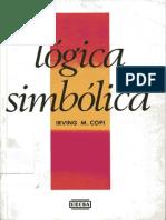 [2001] Logica Simbolica - Copi Irving