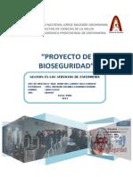 PROYECTO de Bioseguridad