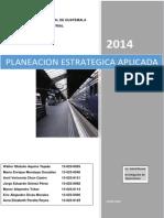 Planeacion Estrategica Aplicada 10 Mayo