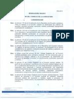 Resolución 158-2013