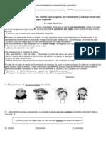 Control Escrito Diferenciado de Lectura Comprensiva y Gramática (1)