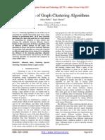 Comparison of Graph Clustering Algorithms