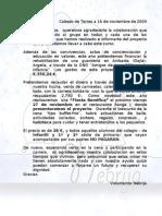 Carta Presentacion Del Proyecto