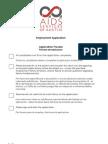 ASA Employment Application
